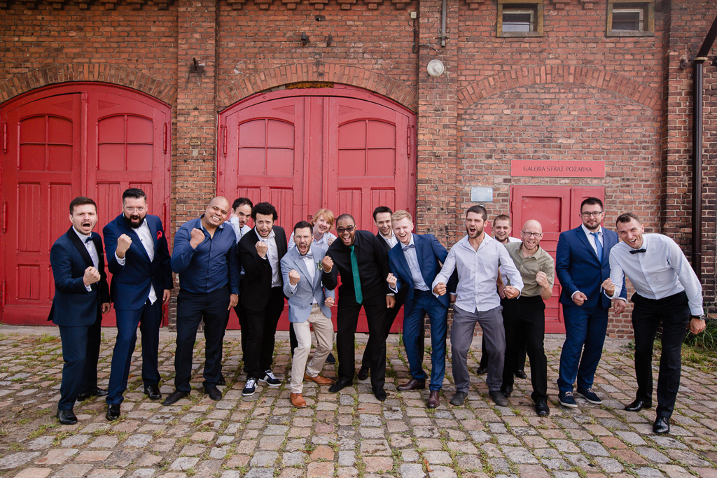 mini sesja w dniu ślubu fotograf ślubny katowice