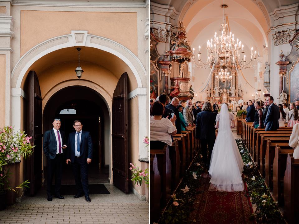 parafia Bożego Ciała i św. Norberta, ślub kościelny, naturalna fotografia ślubna